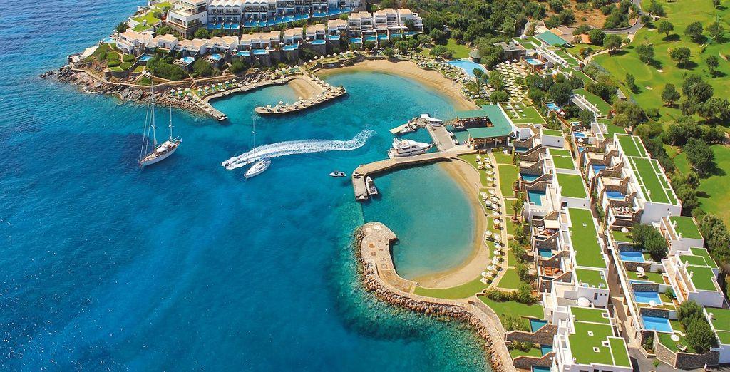 Benvenuti a Creta, nel vostro favoloso 5*