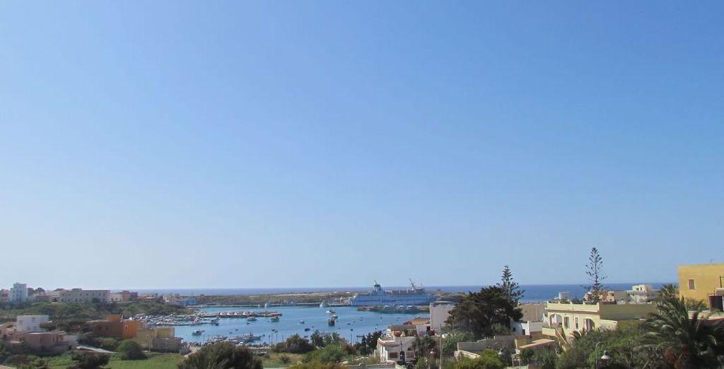 La bellissima Isola di Lampedusa vi attende