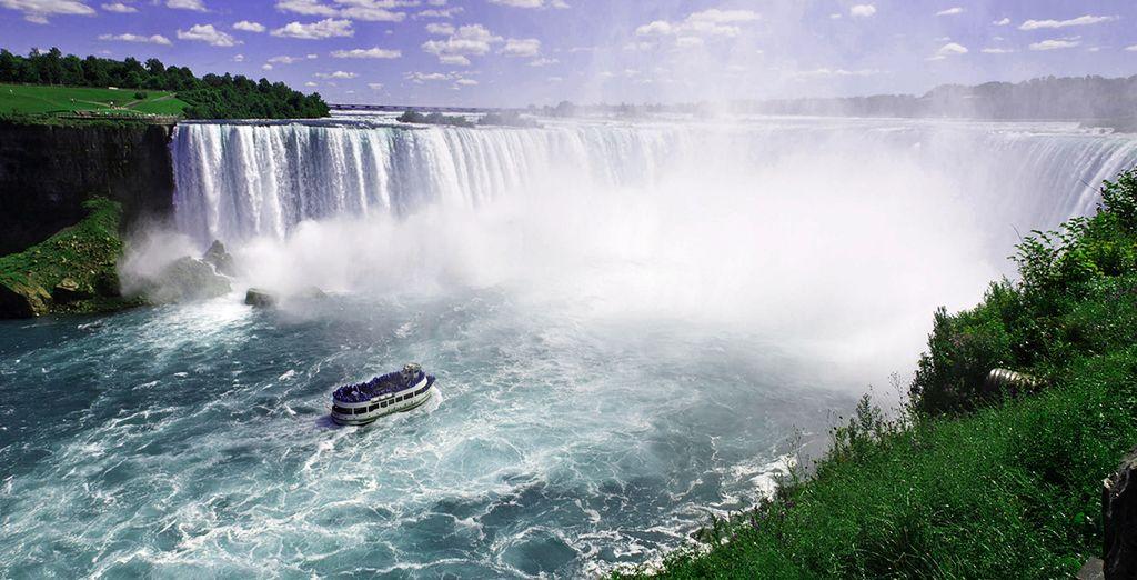 scoprire le cascate del Niagara