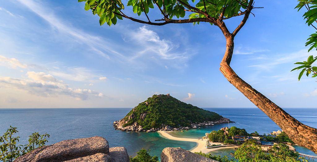 Paesaggi dell'isola di Koh Samui