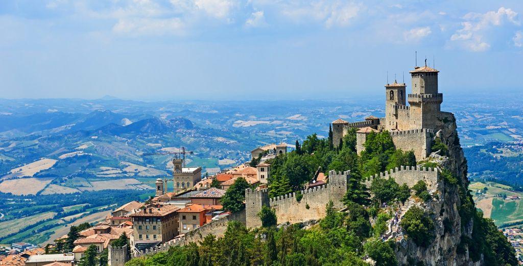 Fotografia della città di San Marino