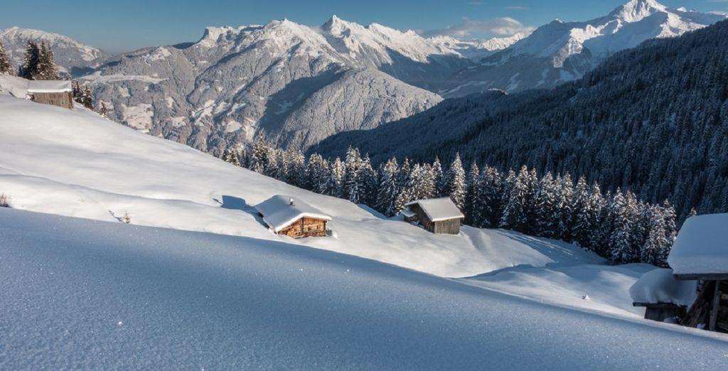 Scoprite una delle zone sciistiche fra le dieci più grandi del Tirolo.