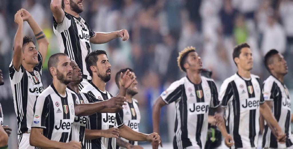 La Juventus, dominatrice assoluta della Serie A
