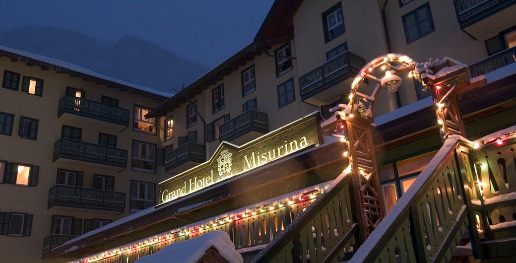Un hotel tipicamente montano