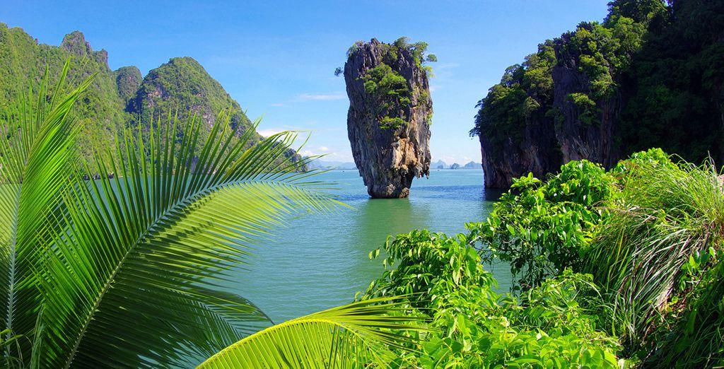Fotografia di Phuket e dei suoi paesaggi verdi