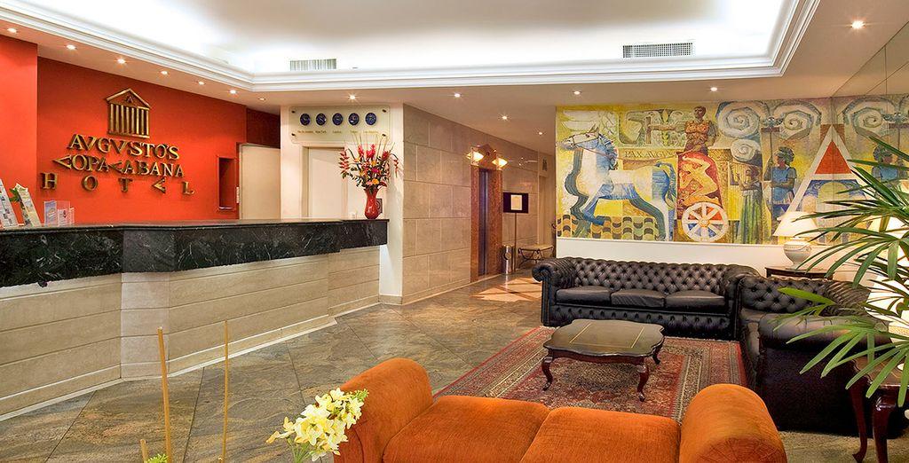 Per rilassarvi poi presso Augustos Copacabana Hotel