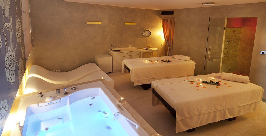 Per un soggiorno all'insegna del benesere, provate la spa dell'hotel