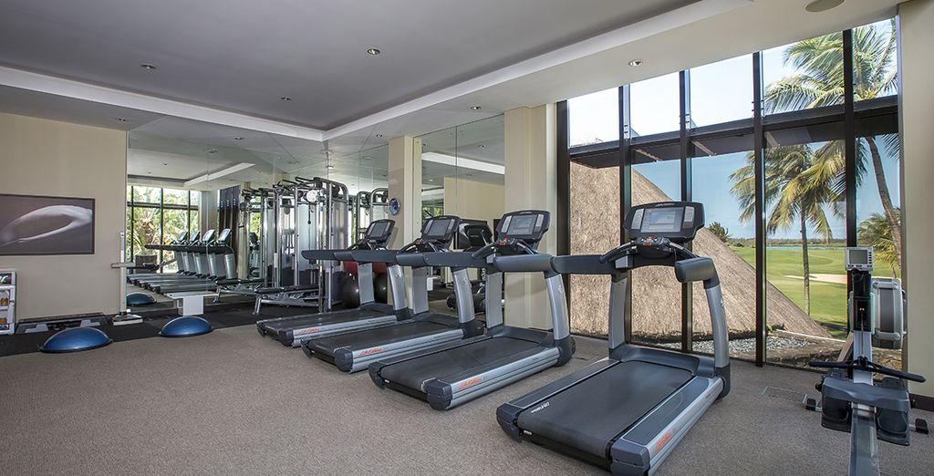 il fitness centre per gli sportivi
