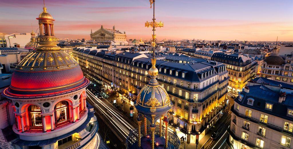 Fotografia della capitale francese, Parigi e la sua bella architettura