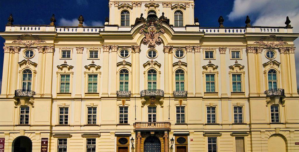 Fotografia del Castello di Praga