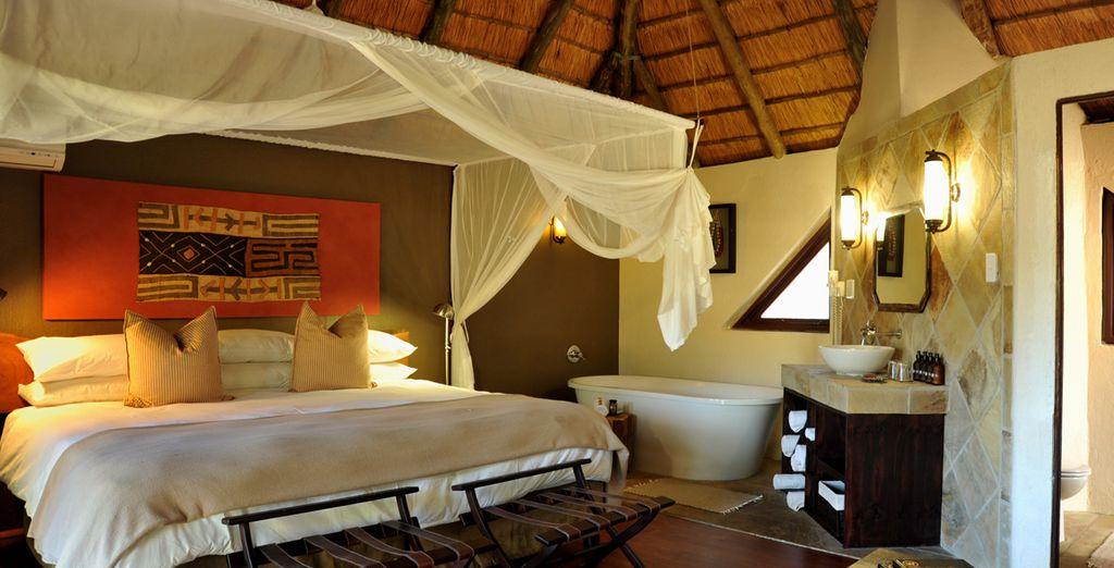 In alternativa potrete optare per un soggiorno in lodge 4* all'interno di in una riserva privata vicino il Kruger Park