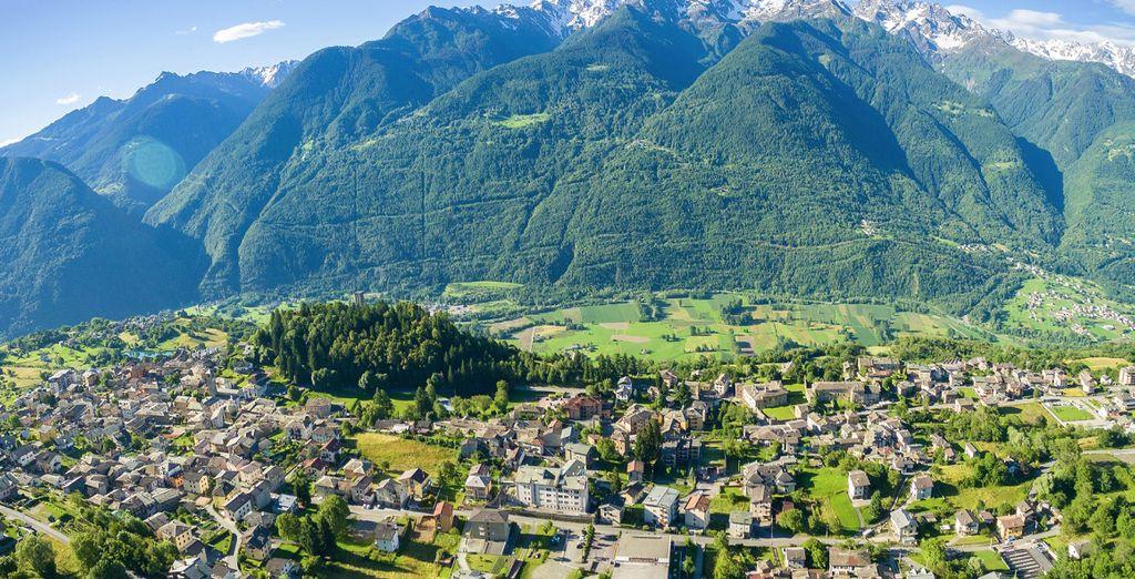 i paesaggi della Valtellina vi conquisteranno