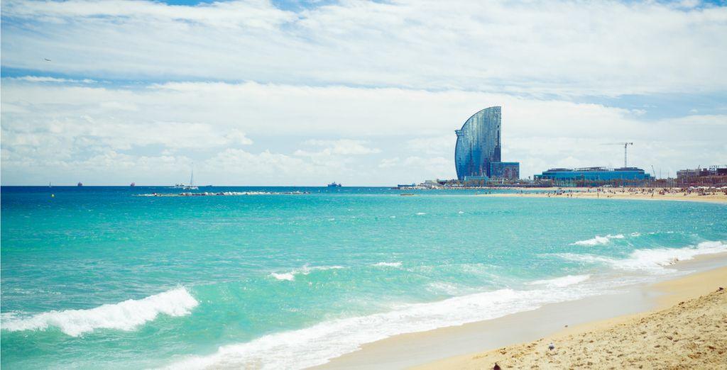 Spiagge di sabbia fine a Barcellona