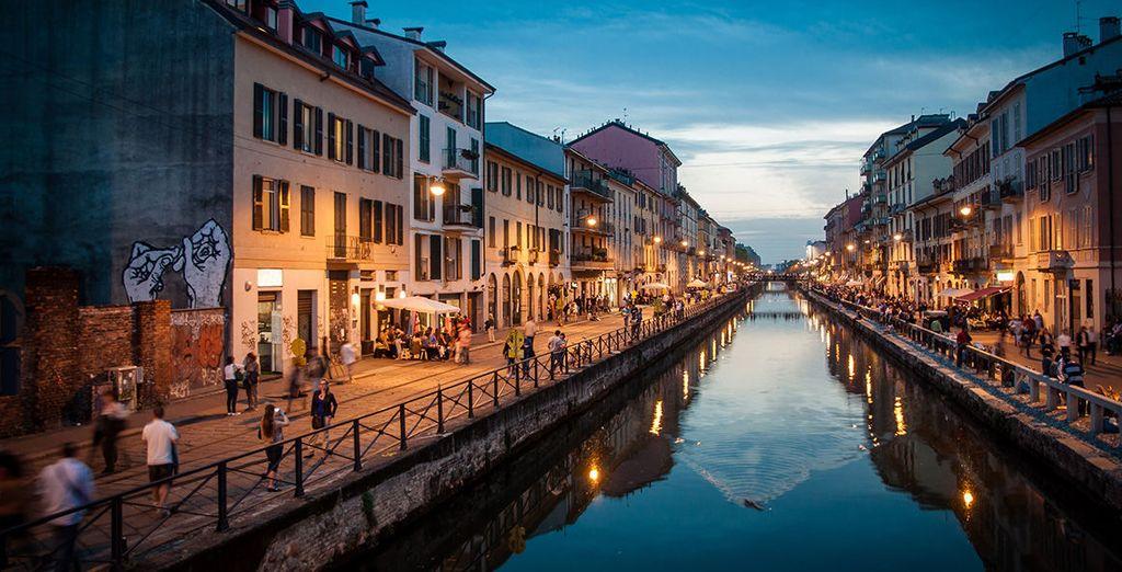 Navigare i canali di Milano