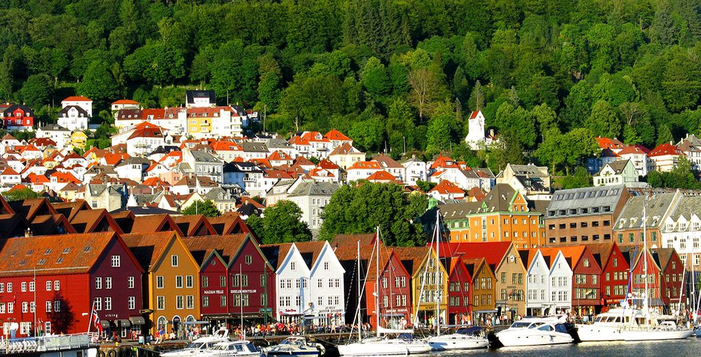 Fotografia della città di Oslo in Norvegia