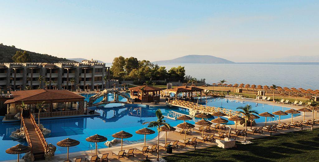 Il Kandia's Castle Resort & Thalasso è pronto ad accogliervi sulle coste greche