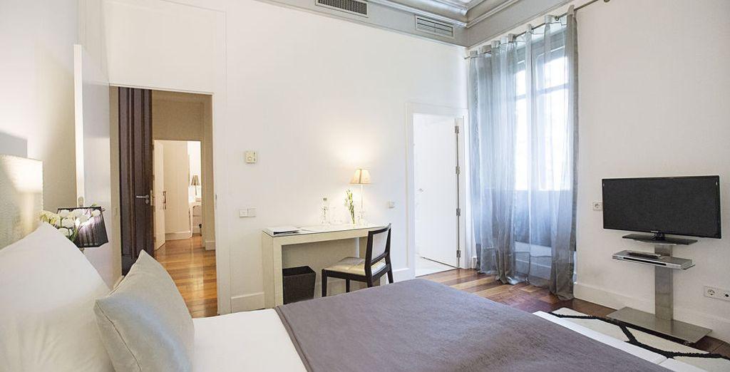 Soggiornerete nelle accoglienti camere Dreamer's Palacio