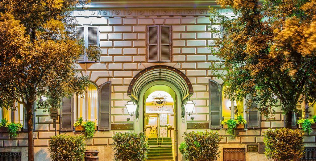 L'Hotel Ludovisi Palace vi attende