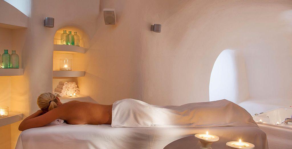 Rilassatevi con un trattamento spa