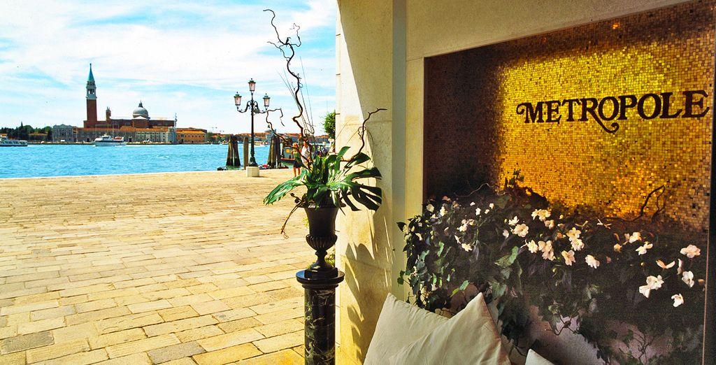 Il meraviglioso Hotel Metropole di Venezia