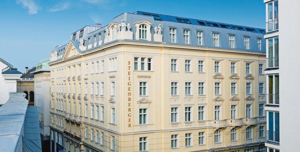 un hotel situato nel pieno centro di Vienna