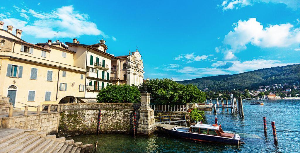 e fate tappa nella caratteristica cittadina di Stresa.