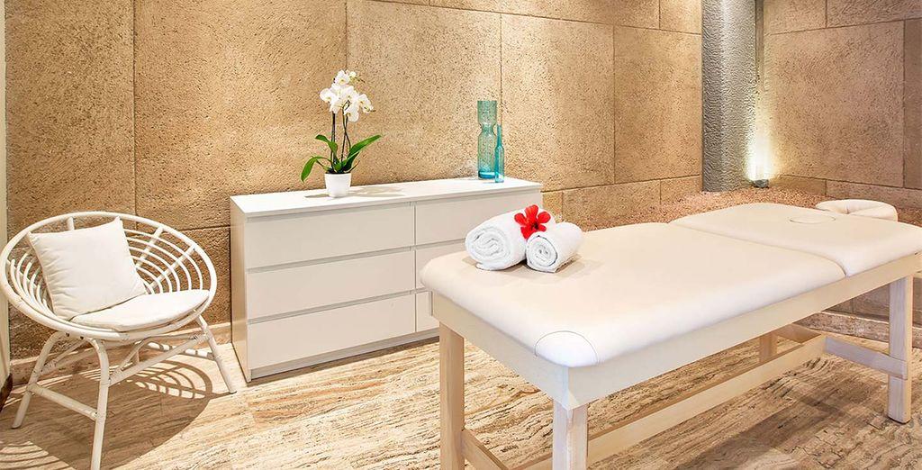 La SPA e il centro benessere vi aspettano per regalarvi momenti unici e rilassanti.