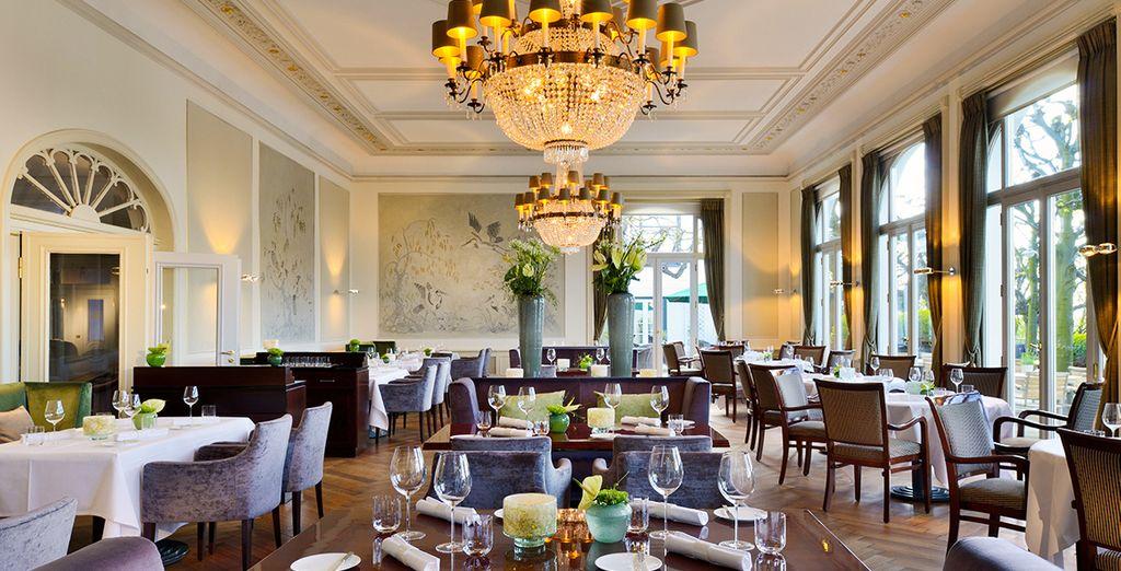 Het Hotel Louis C.Jacob 5* kijkt uit over de Elbe en is lid van de groep Leading Hotels of The World