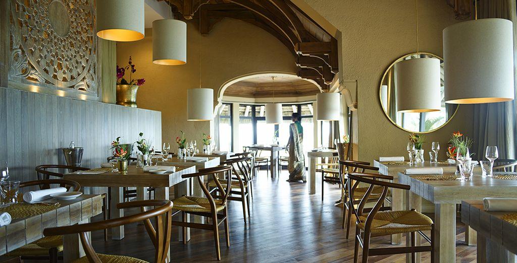 En dineer in een stijlvolle omgeving