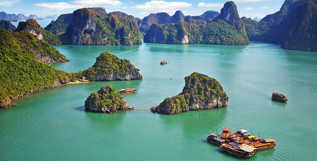 Net als een onvergetelijke cruise door de wereldbekende Ha Long Bay
