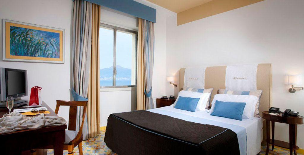 Of de Superior kamer met uitzicht over de baai