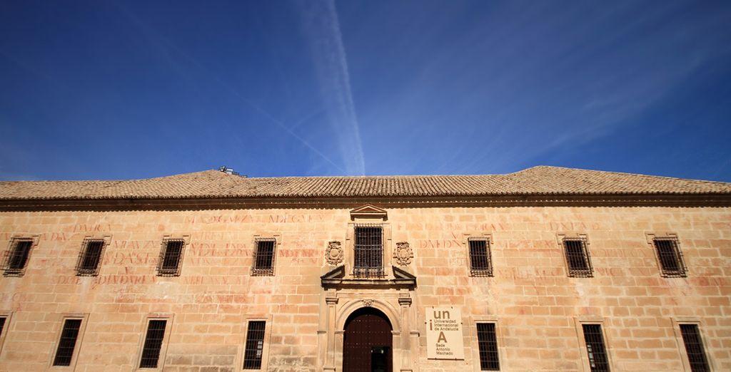 U verblijft vlakbij de Internationale Universiteit van Andalusië