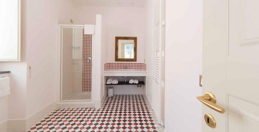 En een prachtige badkamer