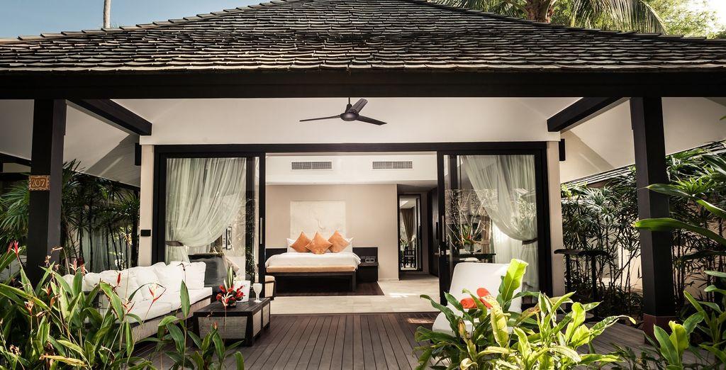 U kunt kiezen voor de idyllische Tuin Villa
