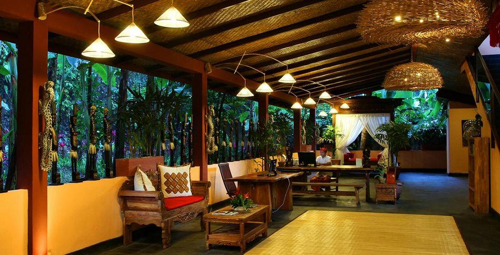 Begin bij de Jungle Retreat Ubud
