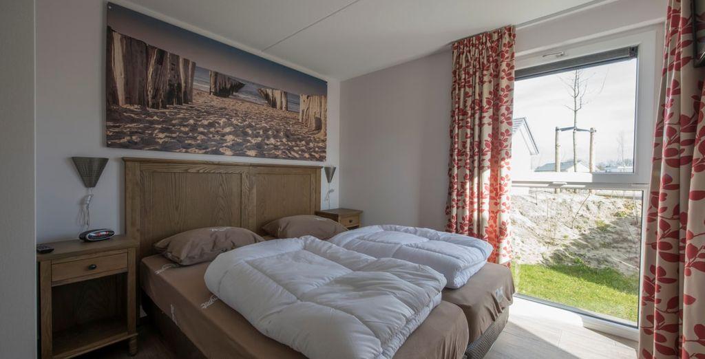 En 3 comfortabele slaapkamers