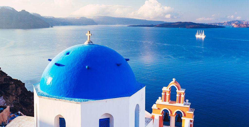 Welkom op Santorini!