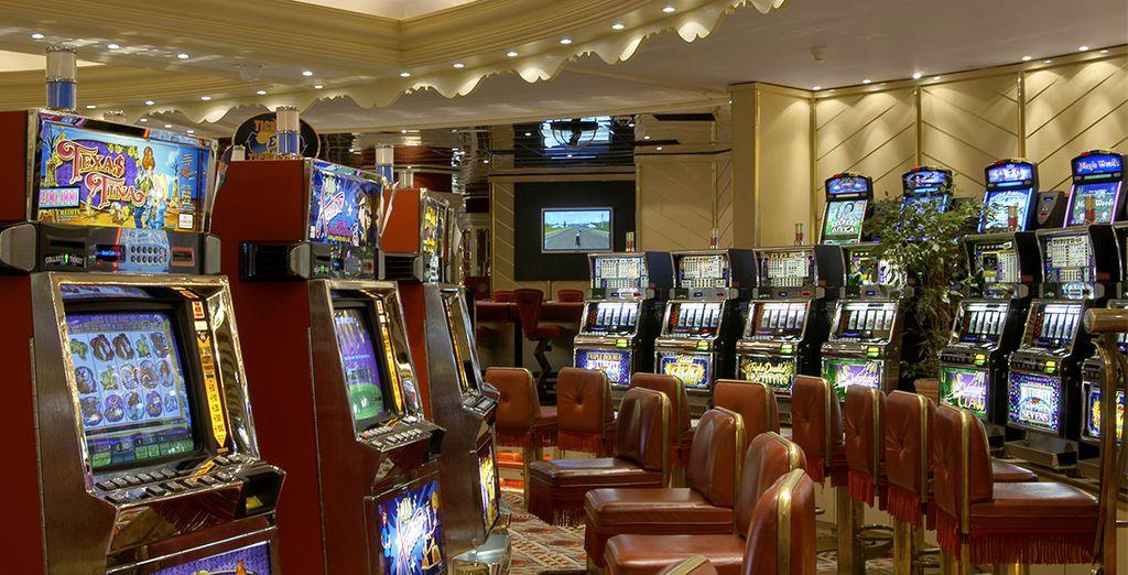 Of het casino van het hotel