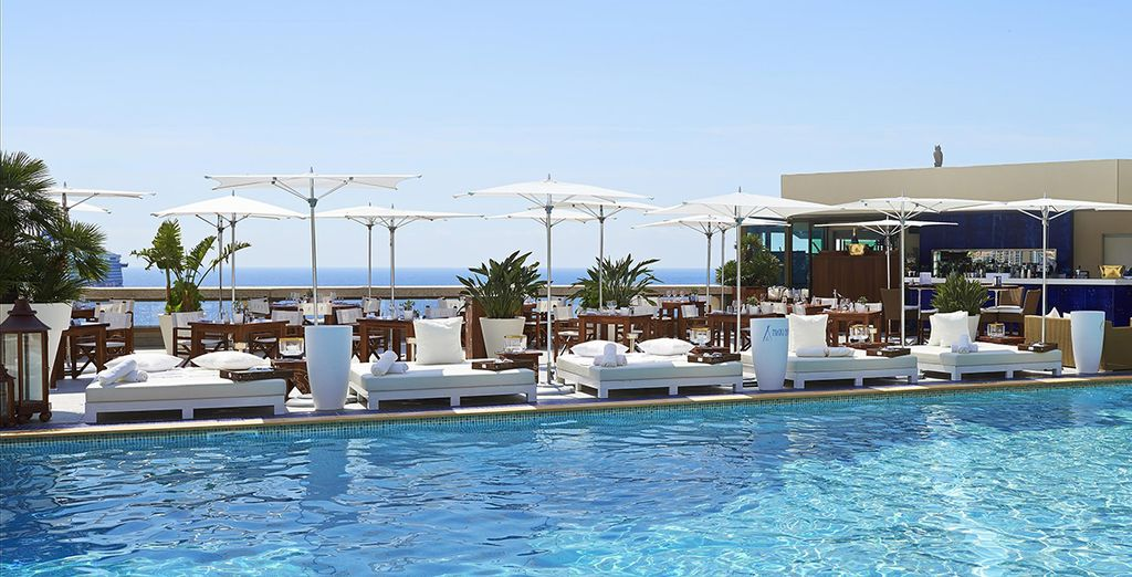Met prachtige uitzichten over de Middellandse zee