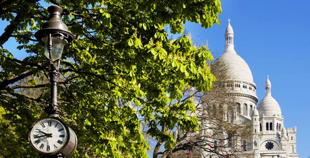 En wandel over Montmartre