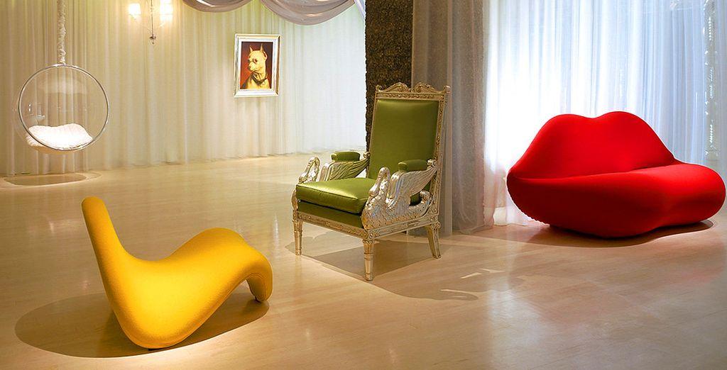 Een klein paradijsje vol fantasie en welzijn, ondertekend door de ontwerper Philippe Stark
