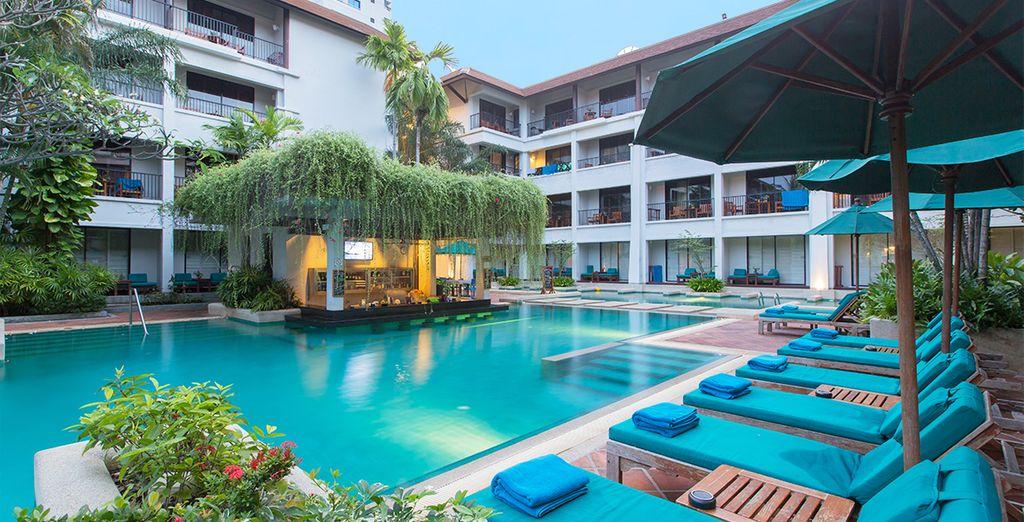 U wordt verwelkomd in het Banthai Beach Resort & Spa