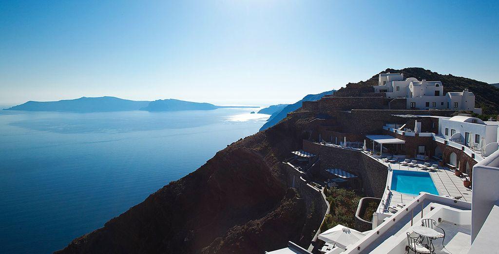 Welkom bij dit hotel op de klif van Imerovigli