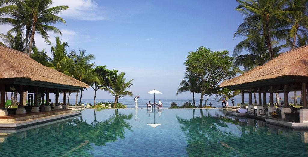 Waar u verblijft in het Intercontinental Bali