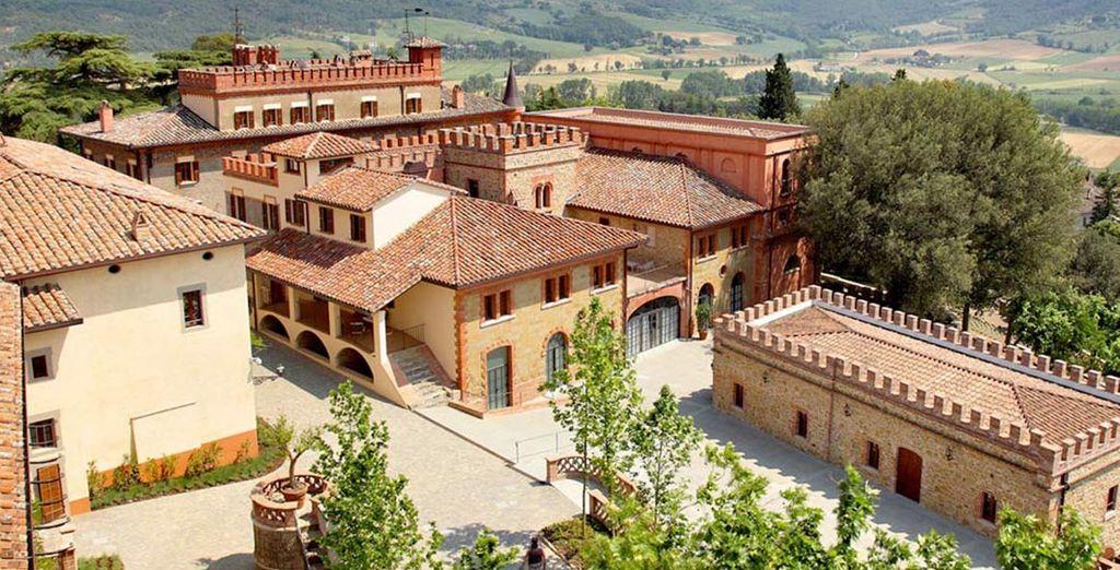 Een statig en elegant gebouw uit de middeleeuwen