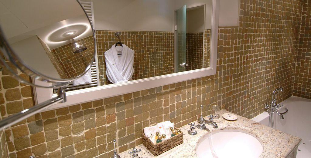 Met een elegante badkamer