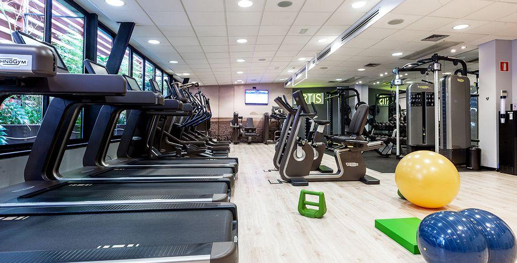 Of breng een bezoek aan de fitnessruimte
