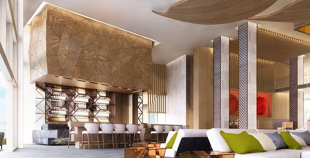 In een elegant design decor