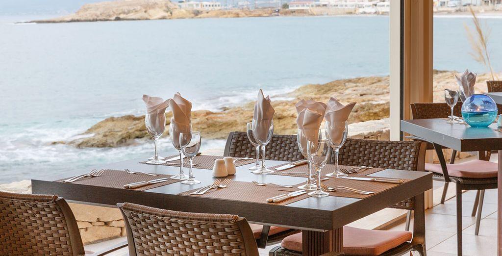 Dineer in het Cochlias Restaurant