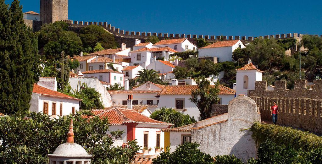 Bezoek het schilderachtige stadje Óbidos